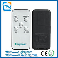 China oem factory custom mini led light remote control ir ceiling fan remote controller with CE ROHS