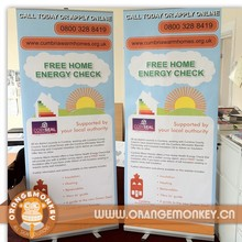 Popular Aluminum Stand Trade Show Pull Up Banners