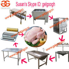Stainless Steel Automatic Pigeon/Quail/Chicken Slaughtering Line