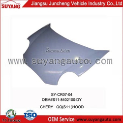 Chery MVM110 car spare parts engine hood aftermarket products Chinese car brand for sale