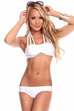 2015 venus vacation two piece open hot girl sexy swimwear bikini