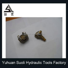High quality Bolt Type Aluminium Alloy Strain/Tension Clamp For Cable Fittings Hot Line Clamp