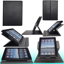 2015 New Luxury 360 degree rotation universal tablet case for iPad