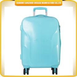 Child ABS luggage fashion design ABS trolley school luggage 20inch ABS travel luggage with TSA lock