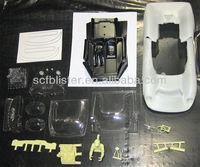 RC car plastic body shell/vacuum formed body shell