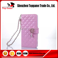 2015 Newest and hot selling leather flip mobile phone case for Sony Z5