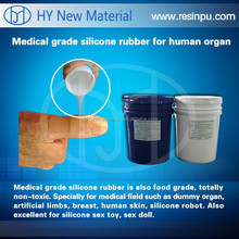 Silicone for making organ molds or full silicone sex doll
