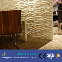 High quality fireproof 3d mdf wave board,3d mdf panel