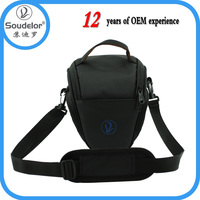 Promotion cheap chevron camera bag