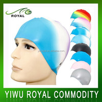 Promotional Colorful Waterproof Adult Funny Silicone Swim Cap