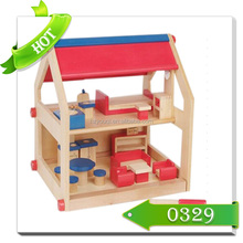 children wooden toy miniature doll house furniture