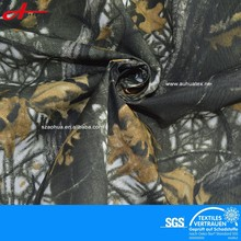 polyester taslon camouflage printed fabric for hunting clothes camouflage painting clothes