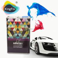 Trade Assurance Kingfix car varnish & HS clearcoat for metal coating
