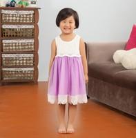 Fashion baby girl frock fancy smoking dress for kids
