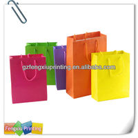 Hot Sell Custom Shopping Paper Bag Manufacturer