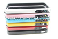 Double Colors TPU Bumper Frame Case Skin Cover For Apple iPhone 4 4G 4S Bumper Case