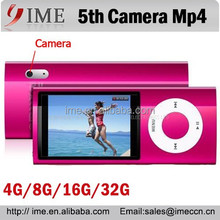 Newly 5th Gen Digital Mp4 Mp5 Player 2.2'' LCD Screen Camera Scroll Wheel 1.3MP Camera Special Offer