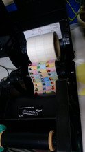 Tsc Printer Name Sticker Iron on Label with Special Software