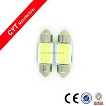 Factory Price 12V 3W 31mm Led COB Car Dome Light top light Interior light