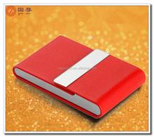 Unique design brand real leather business card holder/cardcase for sale