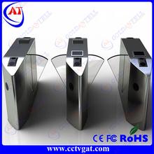 waist high gate flap barrier/ bi-directional swing turnstile/Ticket Counter Machine