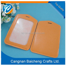 colorful credit card set/ leather /pvc/ pu one side transparent card holder with favourable price and high quality for customer