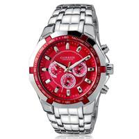 Men's Fashion luxury casual Curren watch waterproof stainless steel watch
