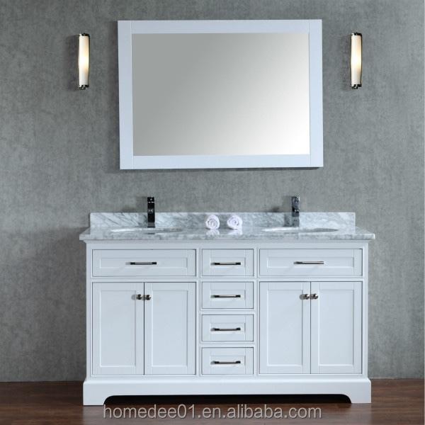 homedee european double sink bathroom vanity cabinet basin