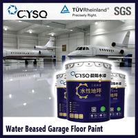 Water based epoxy garage floor paint