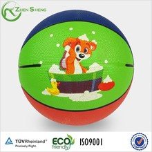 Zhensheng Rubber Basketballs Customized for Kids Playing