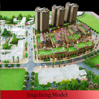 planning city area scale models in China