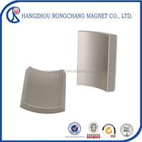 sintered strong neodymium for motor electromagnet plate