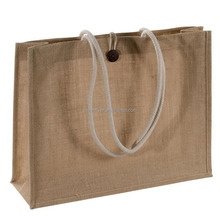 Customized Promotional Plain Jute Tote Bag