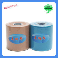7.5cmX5m Athletes Fashionable Skin Colorful Muscle Tape