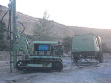 30m hydraulic rock drill for mining exploration and blast hole