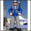 2015 Hot sale giant Inflatable Replica Larry