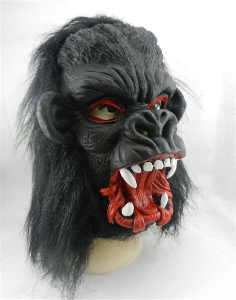 scary horror big ear donkey kong latex gorilla masks full face
