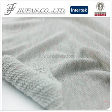 Jiufan Textile High Quality French Terry Fabric Yarn Dyed Fabric For Clothing