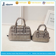 luxury women pu ladies drop shopping leather handbags