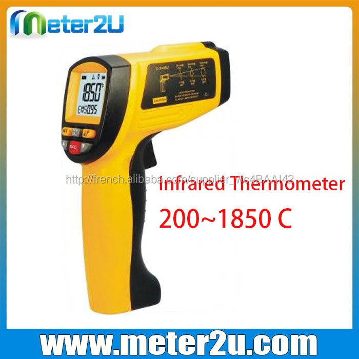 HD1850 Infrarouge Thermomètre Meilleur Vente Industrielle Infrarouge Numérique Thermomètre