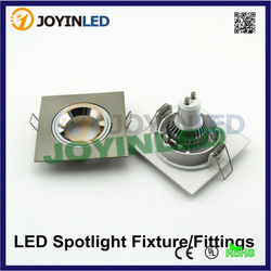 GU10/MR16 zinc alloy led light frame