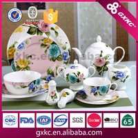 30pcs new bone china dinnerware gift set manufactured in China