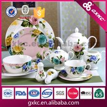 30pcs new bone china dinnerware gift set manufactured in China