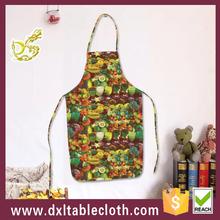حار بيع الفاكهة الملونة الرسم المريلة البلاستيكية/ ساحة الطبخ