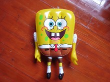 Inflatable toys for kids, PVC inflatable spongebob cartoon toys for kids