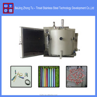 Metal evaporator spray paint production line / vacuum chrome plating coating machine