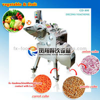 industry cube cutting machine/Fruit vegetable cube cutter