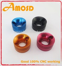Customized cnc aluminum motocycle part