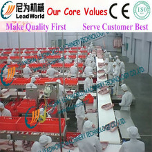 mobile phone / led tv assembly line/assembly line equipment conveyor belt