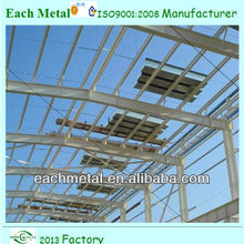 ISO9001:2000 light structural steel shed plant